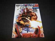 SIGNED CHUCK DIXON GI JOE #10 CVR A COBRA COMMAND PART4 FOLLOW UP TO CIVIL WAR