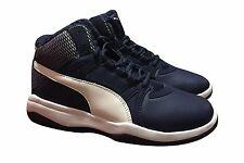 PUMA REBOUND STREET EVO FUR MEN'S BASKETBALL / WALKING SHOES 362895 01 SIZE 9