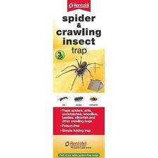 Rentokil Spider & arrastrarse Insecto trampas - 3 Pack