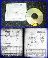 Tiger Moth Blueprints DH82A & DH82C