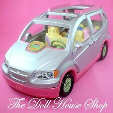 Fisher price Loving Family Dollhouse Silver Musical Sounds Minivan SUV Car