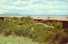 Camping shelters in FALCON STATE PARK, FALCON LAKE, TEXAS along US-Mexico border