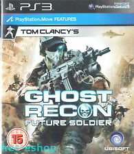Tom Clancy's Ghost Recon: Future Soldier Sony Playstation 3 PS3 15+ Action Game