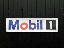 Mobil 1 Oil Car Banner for Garage / Shop Display