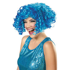 Cookie Monster Adult Costume Short Curly Blue Wig Sesame Street | Disguise 52200