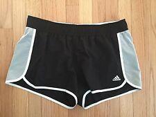 NWT Adidas Women's Varsity Player Athletic Shorts Black/White Large G77540