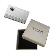 Welsh Flag Deluxe Business Card Holder In Gift Box