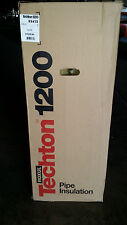 """Roxul Techton 1200 Pipe Insulation 3.5"""" x 1.5"""" wall,  13.120  Linear Ft."""