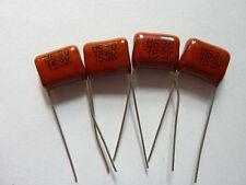 10PCS CBB21 153K 630V 0.015UF 15NF P10 Metallized Film Capacitor