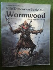 Wormwood Rifts Dimension Book One Palladium Books USED trade paperback
