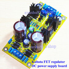 Kubota FET High Voltage DC Adjustable Filter Regulator Amplifier Preamp Power