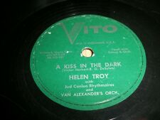 HELEN TROY-RARE LABEL-A KISS IN THE DARK/I GET THE BLUE