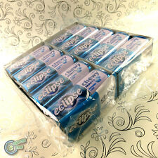 20x 27pcs Eclipse Chewy Mint Peppermint Blue Metal Tin Box Wrigley's Wrigley
