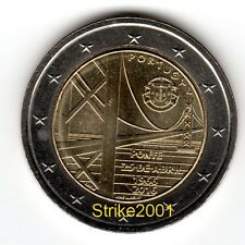 NEW !!! 2 EURO COMMEMORATIVO PORTOGALLO 2016 Ponte 25 Aprile NEW !!!