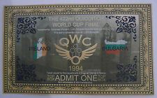 Harry Potter - Quidditch World Cup Final Ticket - Bulgaria Vs Ireland x2