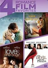 Safe Haven/Water for Elephants/Love & Other Drugs/The Devil Wears Prada  (2014)