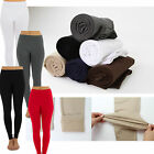 Brushed Stretch Fleece Lined Thick Winter Pants Leggings High Quality160g TD