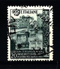 ITALIA REP. - 1949 - Ricostruzione del Ponte S. Trinita - Usato