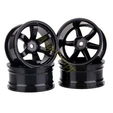 SET 12mm Hub 6mm Offset Wheel Rim HPI Redcat HSP 1:10 On-Road Racing RC Car 701