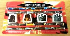 JOB LOT 10 x MONSTER STATIONERY SETS PENCILS ERASERS FOR PARTY BAGS BOYS