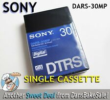 Sony DARS-30MP DTRS Hi-8 Metal Particle Pro Digital Audio Cassette SINGLE NEW