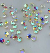 200Pcs 4mm AB Crystal Birthstones Floating Charm for Glass Living Memory Lockets