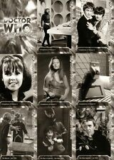 Dr Doctor Who Trilogy Monochrome Full 200 Card Base Set from Strictly Ink