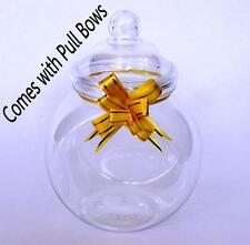 Plastic Sweet / Cookie 650ml Sweet Jars   -  Pack of 6