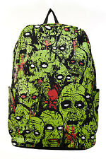 Banned Alternative Apparel Green and Black Zombie Backpack