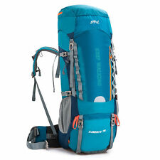 70L Waterproof Hiking Mountaineering Camping Hunting Backpack Shoulder Bag