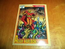 Adam Warlock # 29 - 1991 Marvel Universe Series 2 Impel Base Trading Card