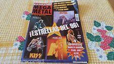 ZZ- REVISTA MAGAZINE KERRANG Nº13 - ESTRELLAS DEL 96 - PEARL JAM - KISS - AC/DC