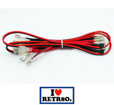 12v LED cable wire harness 14 insulated pushbuttons Arcade Cabinet Mame