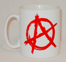 Anarchy Symbol Mug Can Be Personalised Great Punk Anarchist Sign Coffee Gift