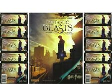 2016 Panini Fantastic Beasts / Harry Potter 8 Sticker Album + 10 Sticker Packs
