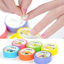 1Box/32pcs Flower Flavor Nail Art Polish Vanish Remover Wet Wipes Paper Towel