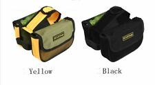 Brand New Cycling Bicycle Bike Mountain Front Frame Tube Double Side Pannier Bag
