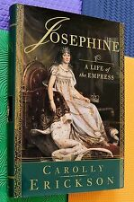 EMPRESS JOSEPHINE royalty biography Wife of NAPOLEON hardback/dj