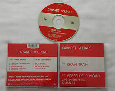 CABARET VOLTAIRE Drain train/PRESSURE COMPANY Live Sheffield '82 - UK CD MUTE