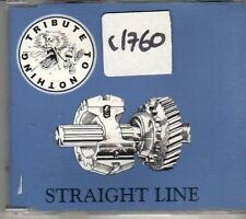 (CM228) Tribute to Nothing, Straight Line - 1996 CD