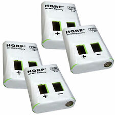 4-Pack HQRP Battery for Motorola M53617 53617 MH230 MH230R MH230TPR MB140 MB140R