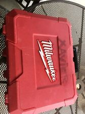 MILWAUKEE 2691-22 CARRYING CASE BOX For 2 Tool Combo Kit PLASTIC  USED