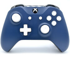 """Midnight Blue"" Xbox One S Rapid Fire Modded Controller, COD IW BO3, Destiny etc"