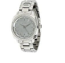 DKNY LADIES CRYSTALS LUXURY DRESS WATCH MOP PEARL LOGO NY4869