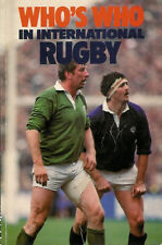 Who's who in international rugby édité par david emery 1984 rugby livre