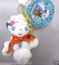 Pokemon Center Original Plush Key chain Mascot Alola Vulpix snow festival