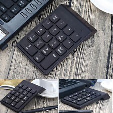 2.4GHz Wireless USB Numeric Keypad Numpad Number 18 keys Pad For PC Laptop