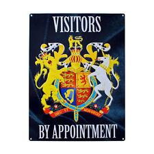 Visitatori su appuntamento,Porta Accesso Avvertenza Misura Media Metallo/