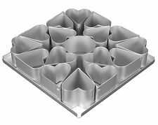 Alan Silverwood 16pc Multi Mini Heart Cake Pan - 125043
