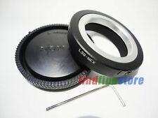 Leica L39 M39 Lens to Sony E mount NEX 5 NEX 7 5N 5R a7 a7R II a7S adapter + CAP